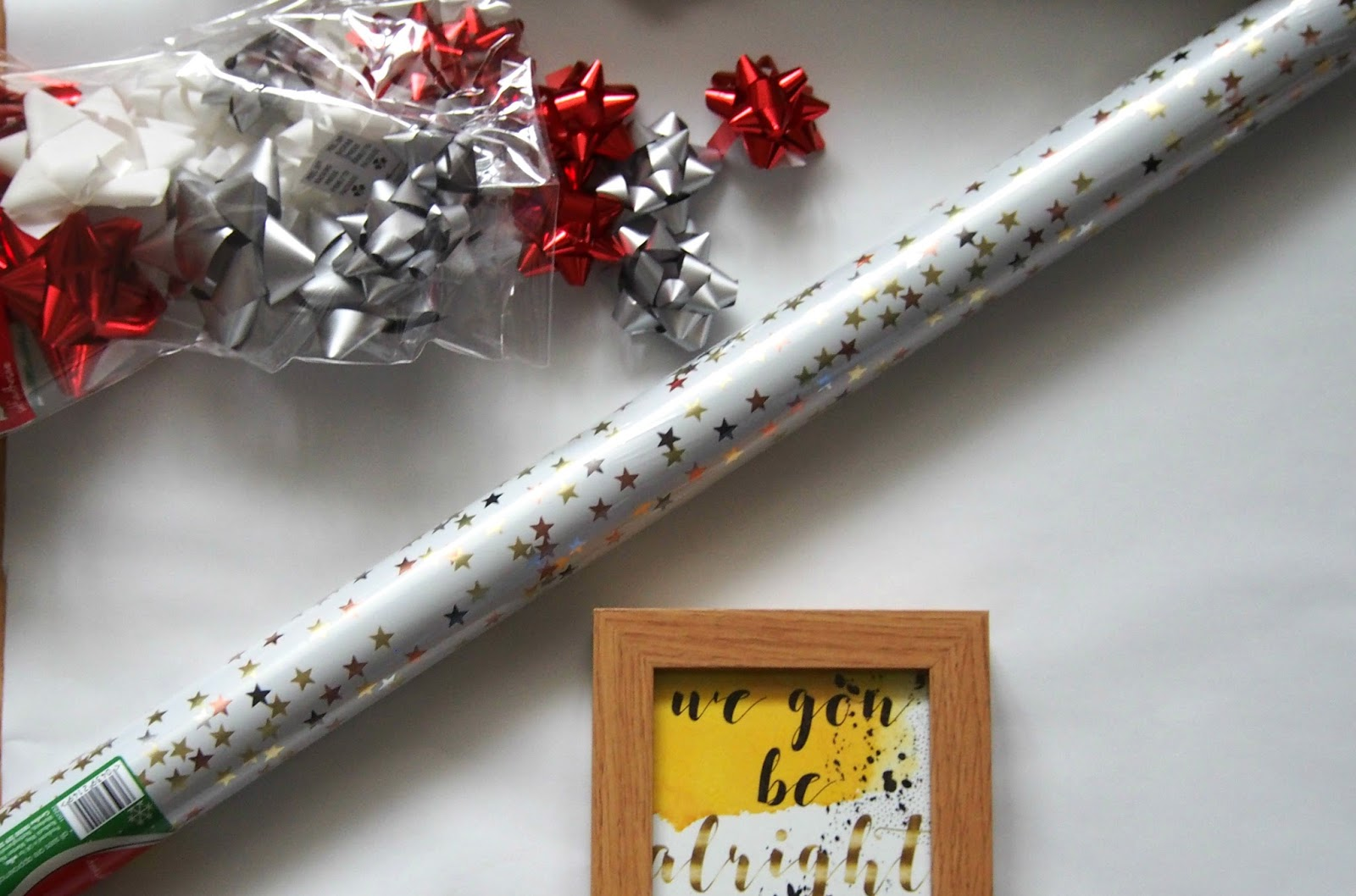 Assortment of wrapping