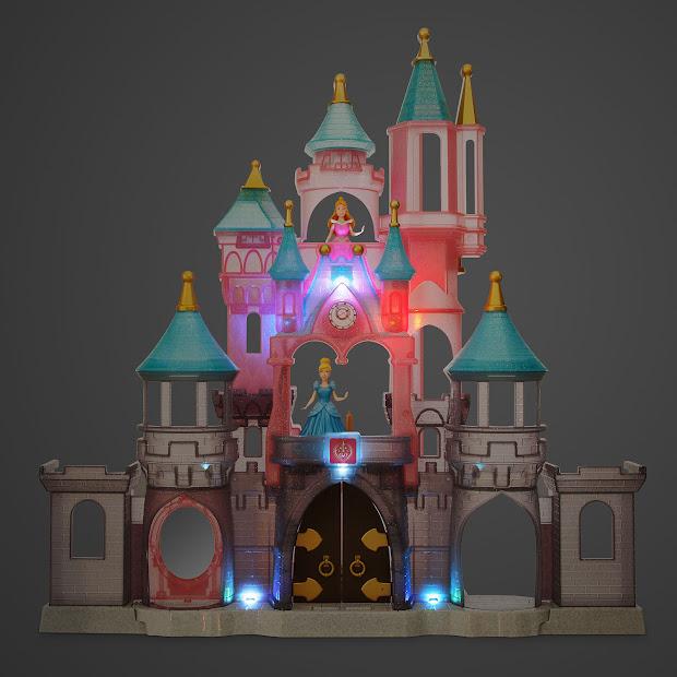 Filmic Light - Snow White Archive 2016 Pvc Figures Disney Princess Castle Play Set
