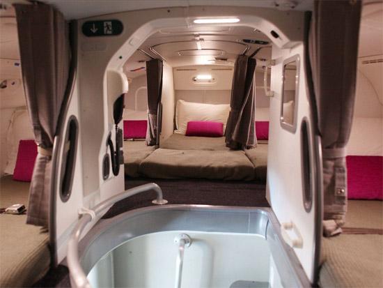 Compartimento secreto exclusivo tripulação aviões 4