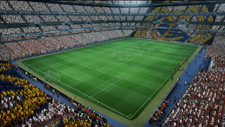 Santiago Bernabeu - Real Madrid Versión 2016 In GDB For PES 2013