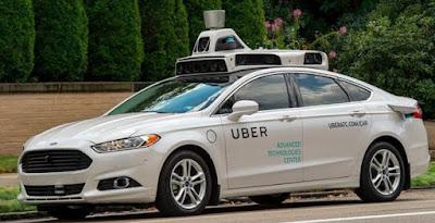 Mobil Otonomos Uber Kembali Tabrakan di Jalan