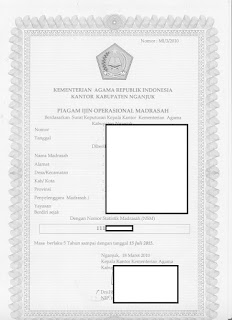 Gambar Piagam Pendirian untuk Verifikasi Validasi SP EMIS