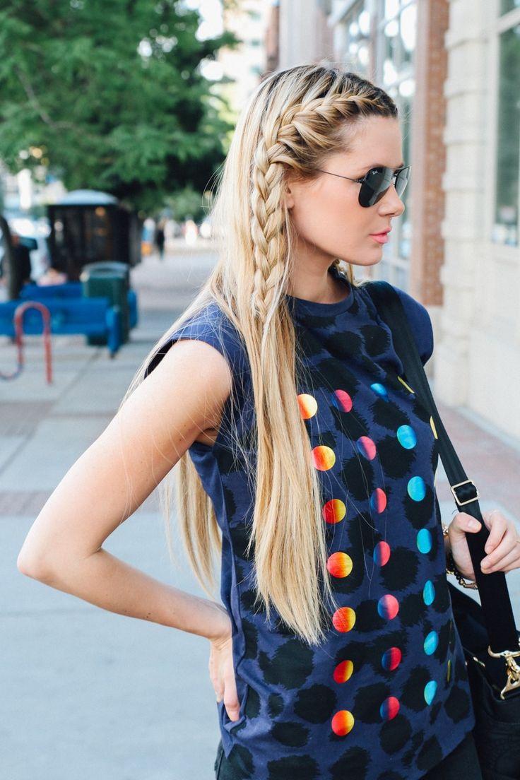 En una tendencia ascendente peinados con trenzas y pelo suelto Imagen de cortes de pelo estilo - La moda en tu cabello: Pelo suelto con trenzas 2016