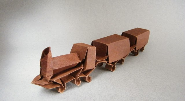 All Aboard the Origami Train - Origami Expressions | 350x640