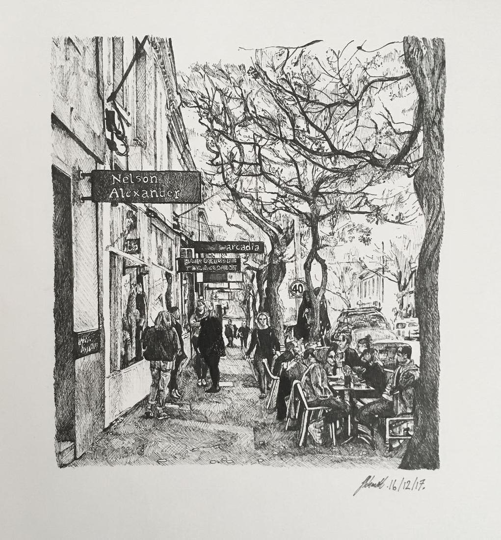 09-Gertrude-St-Fitzroy-Julia-Schmitt-Visual-Diary-Ballpoint-Pen-Urban-Sketches-www-designstack-co