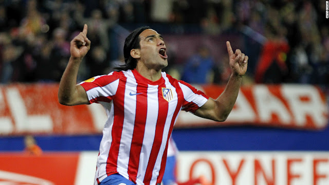 Players having Scored 5 Goals in one Match - Falcao