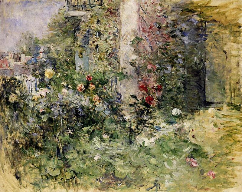 The Garden at Bougival. Berthe Morisot, 1884