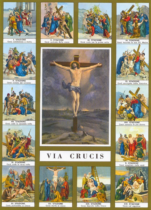 Stations of the cross reflections