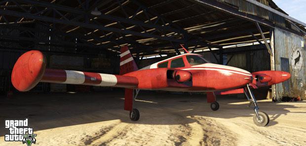GTA 5 Twin Engine Plane