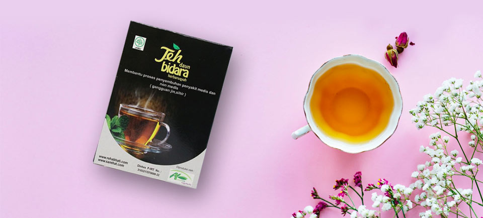 cara penyajian teh daun bidara