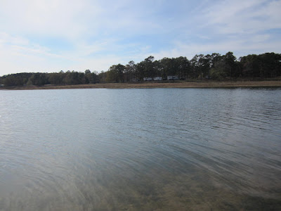 Trace State Park lake