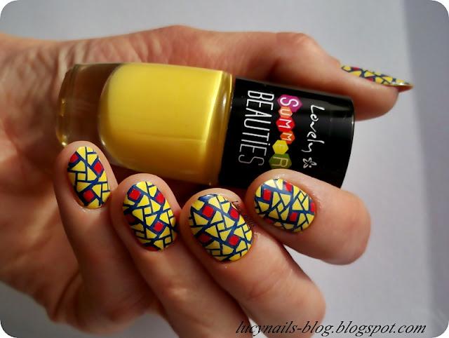 żółty_lakier_do_paznokci