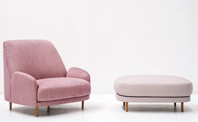 Новости дизайна. Кресла с наклонными спинками от дизайн-студии Claesson Koivisto Run