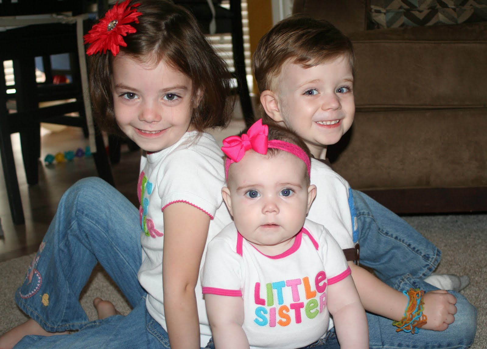 Four of a Kind: Big Sister, Big Brother & Little Sister