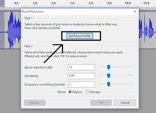 klik get noise profile