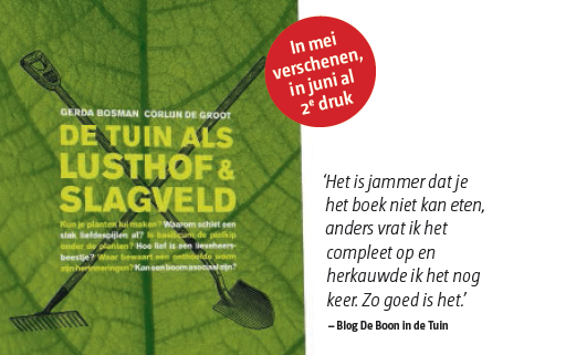 Gerda Bosman Corlijn Groot Scriptum tuin lusthof slagveld