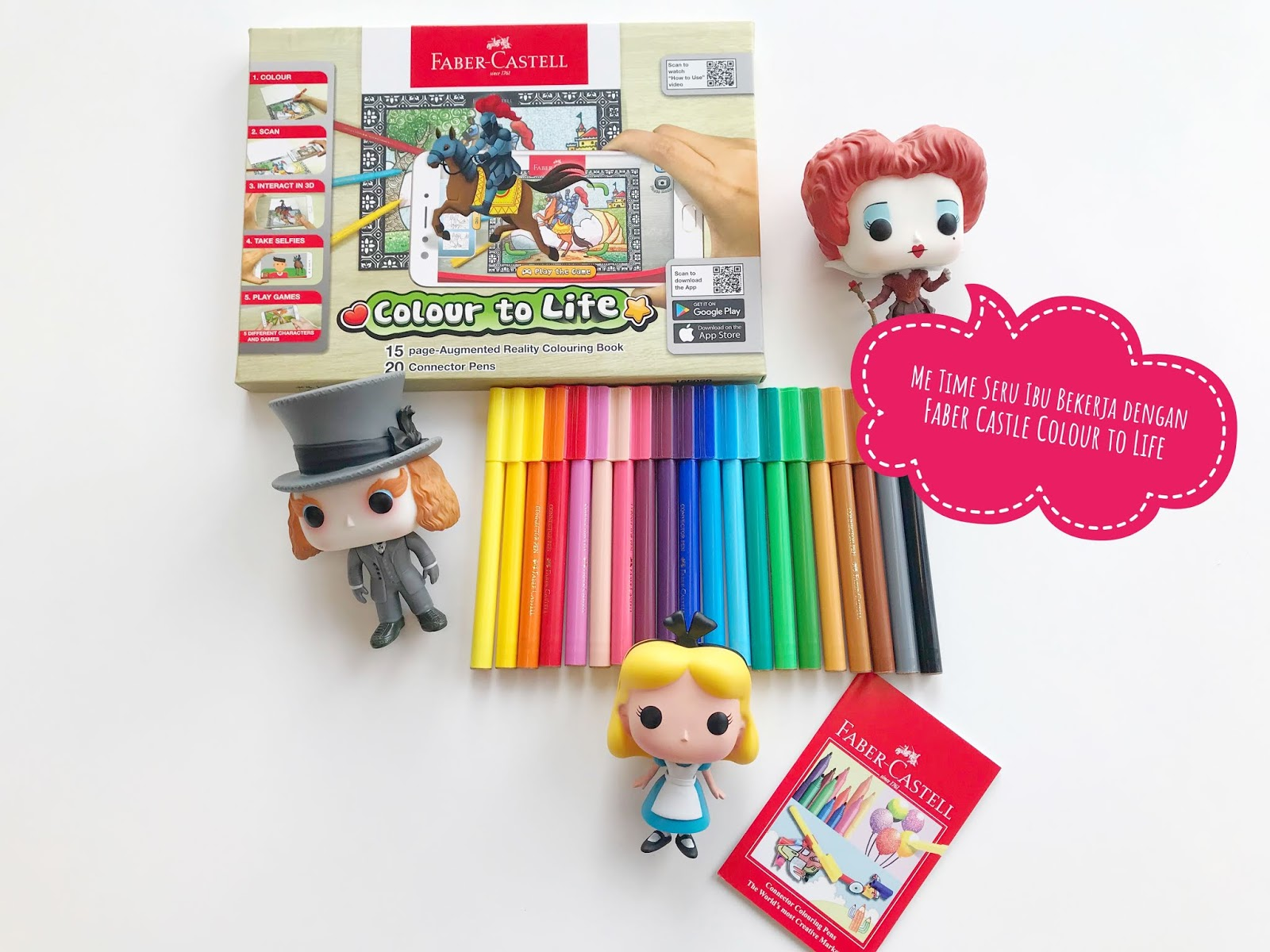 Me Time Seru Ibu Bekerja Dengan Faber Castell Colour To Life