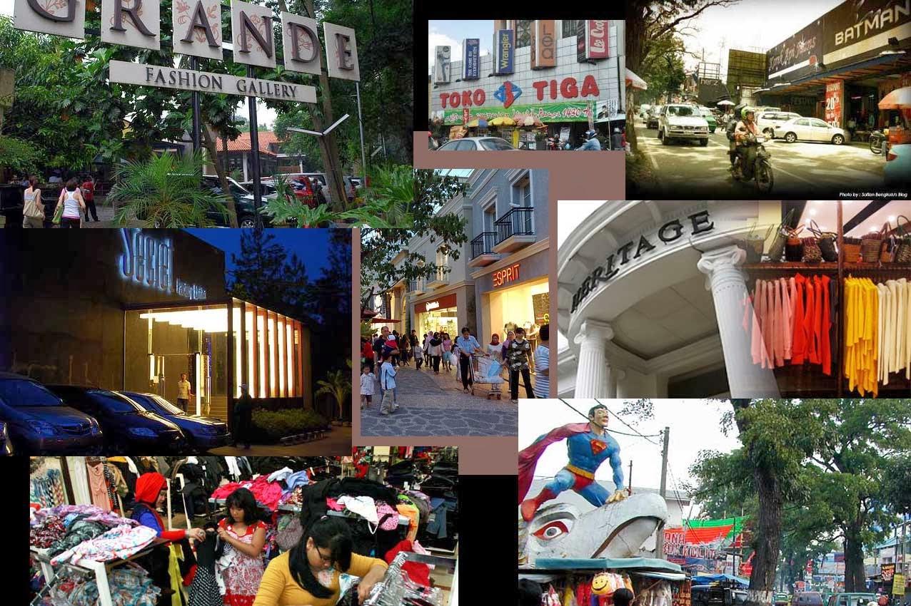 Daftar Tujuan Wisata Belanja Di Bandung Yang Wajib Dikunjungi
