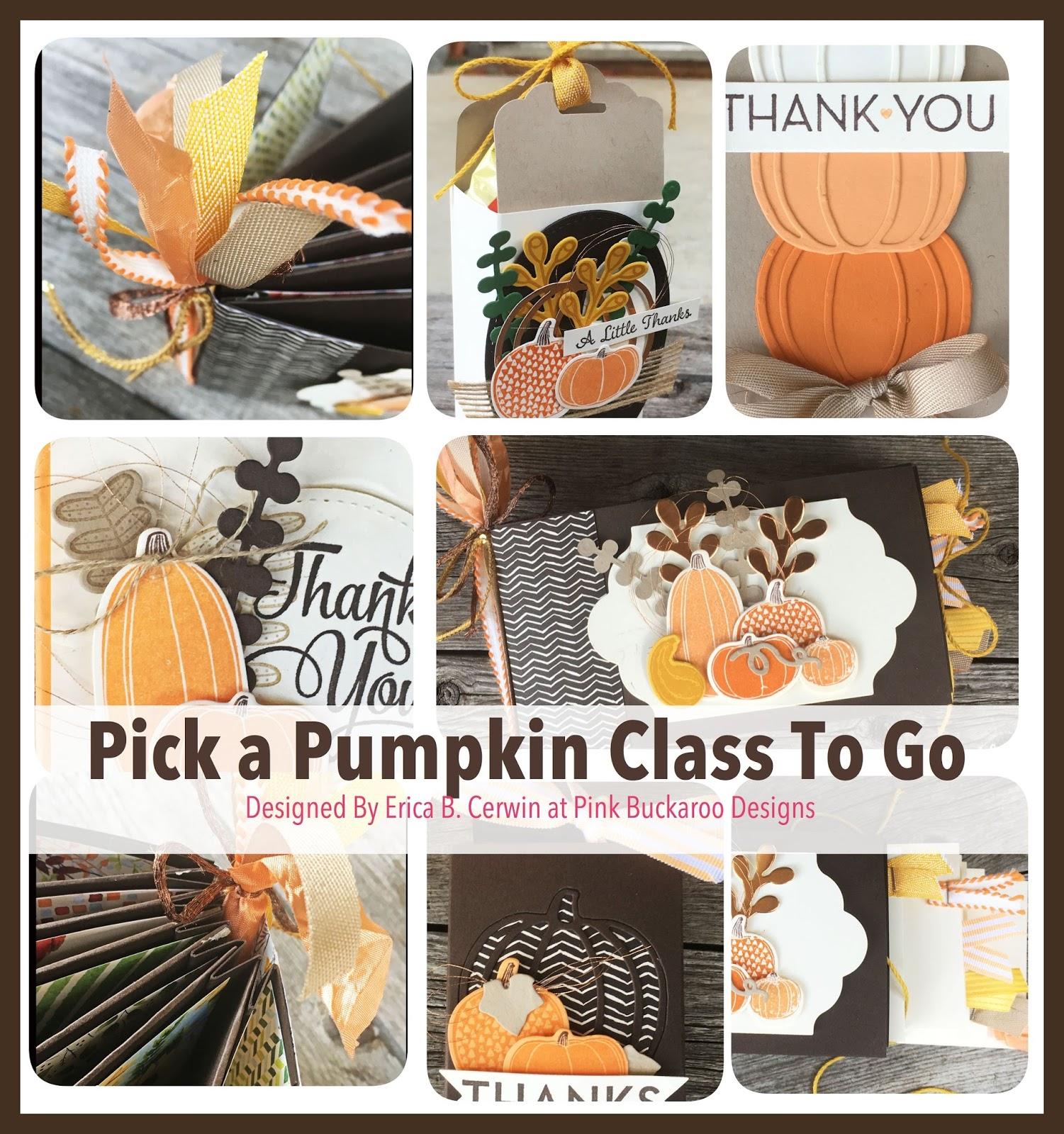 pink buckaroo designs pick a pumpkin class to go