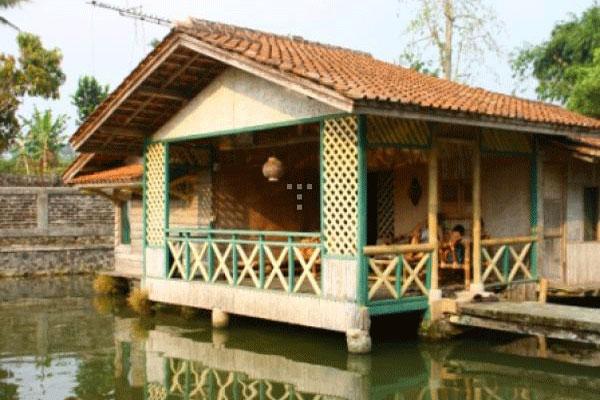 Sewa Villa Apung Pemancingan Sukabumi