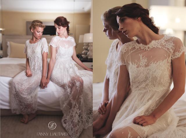 FANNY LIAUTARD collection robes de mariée créateur haute couture Paris
