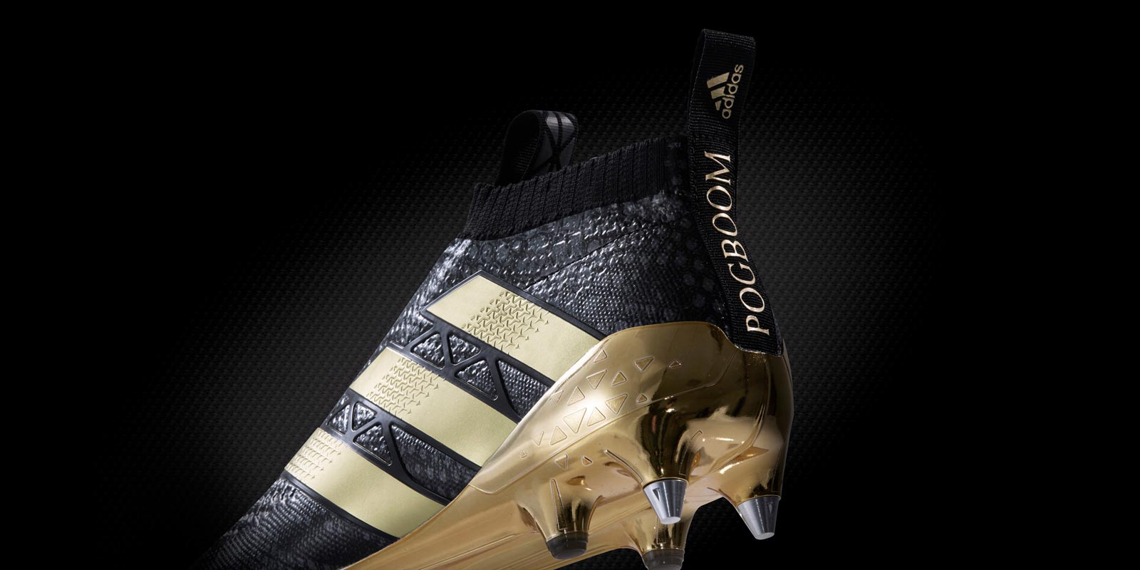 Black & Gold Adidas Ace PureControl Paul Pogba Boots ...