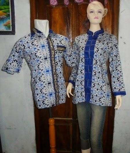 model baju batik couple terbaru