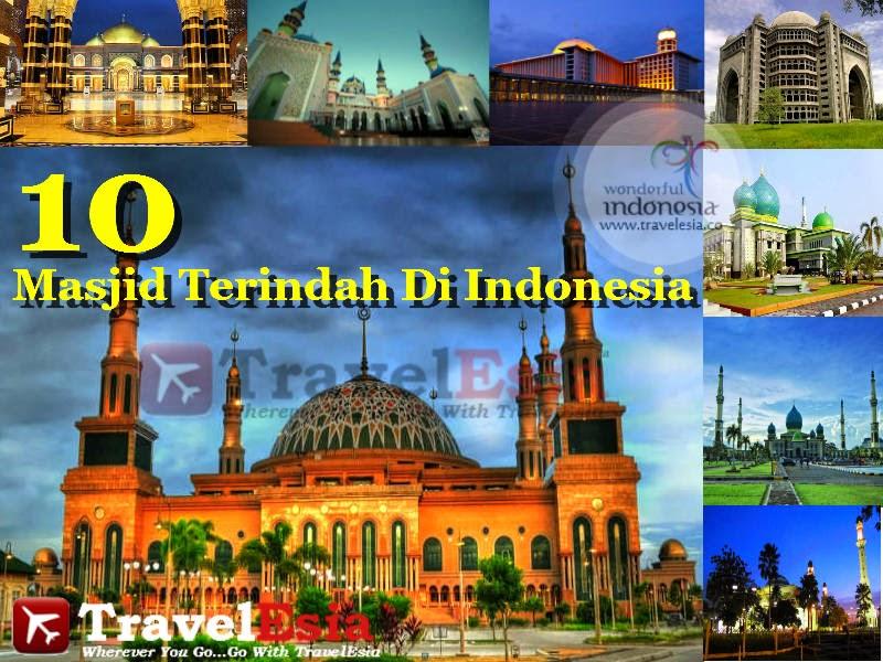 10 Masjid Terindah Di Indonesia