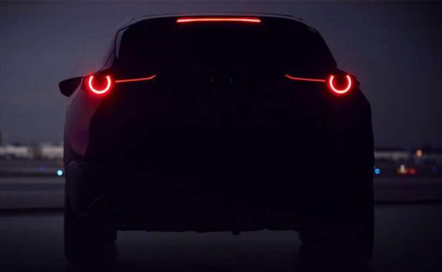 Mazda adelanta imagen de su nueva SUV