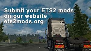 Upload your ETS2 mods