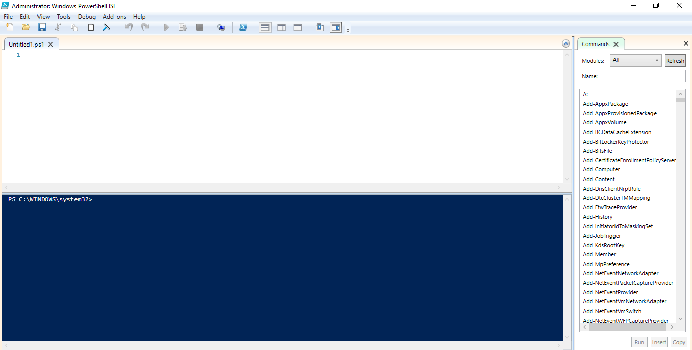 Import NAV Admin Tool and Model tools to PowerShell