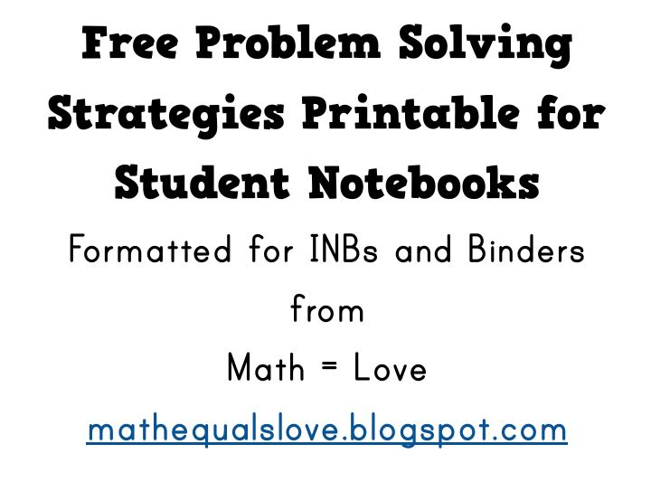 Solving math problems free