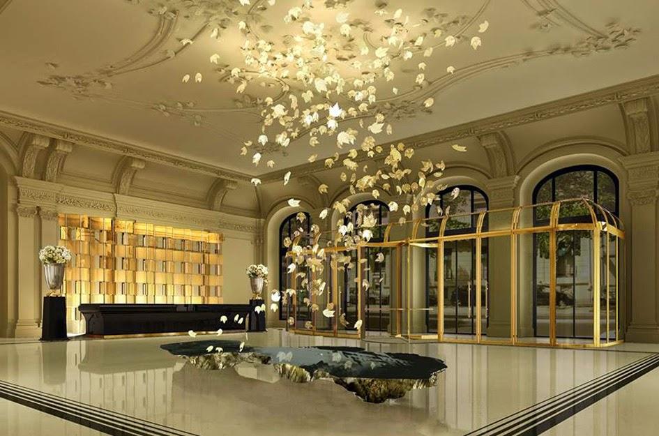 Les plus beaux hotels design du monde h tel the peninsula for Hotel design paris 8