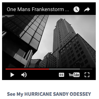MY HURRICANE SANDY ODESSEY