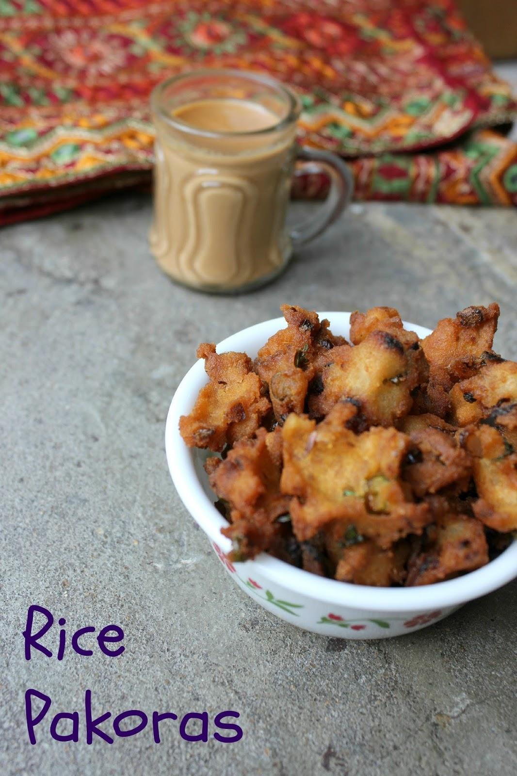 Rice Pakora, Chhattisgarh rice pakora