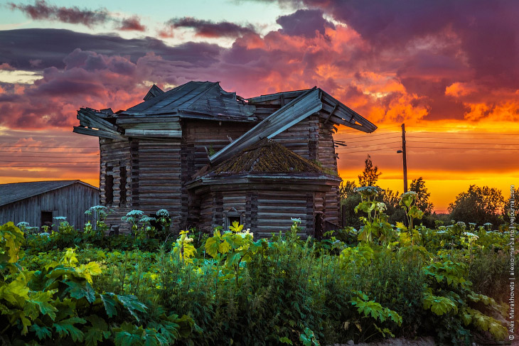 10 потрясающих северных закатов