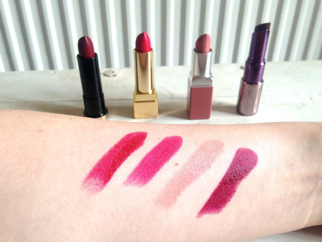 The Lipstick Line Up Swatches