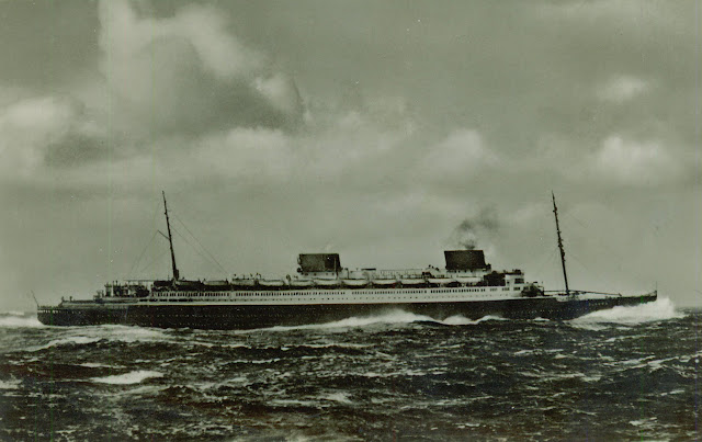 ss ts Europa riding the waves