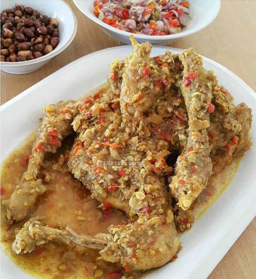 Resep Membuat Ayam Betutu. Enak, Gurih dan Seger Rasanya