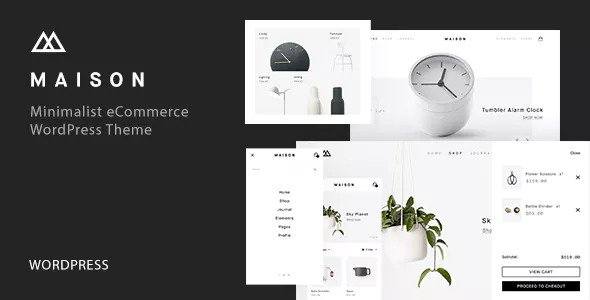 MAISON V1.6 - MINIMALIST ECOMMERCE WORDPRESS THEME