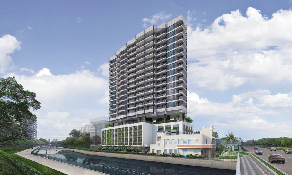 Jui Residences - Building Facade