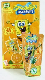 Nickelodeon Juice : nickelodeon, juice, NickALive!:, Drinks, Launches, Brand, Healthy, Interactive, Kids', Fruit, Juice, Range, Featuring, Nickelodeon, Stars, Poundland