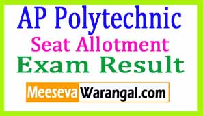 AP Polytechnic Allotment Available | www.polycet.nic.in