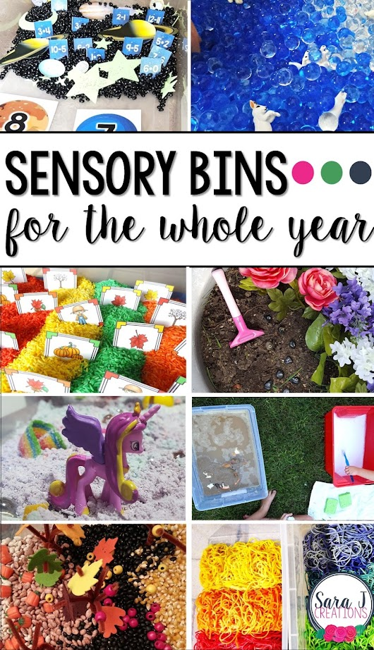Sensory Bins for the Whole Year