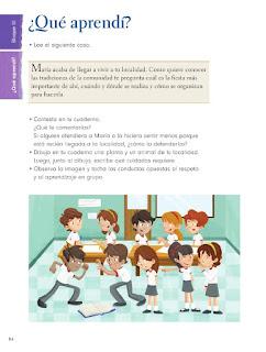 Apoyo Primaria Formación Cívica y Etica 2do. Grado Bloque III ¿Qué aprendí?