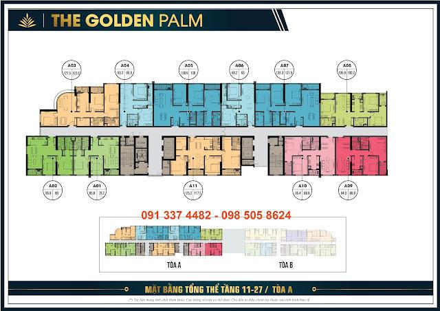 Tổng quan The Golden Palm Lê Văn Lương