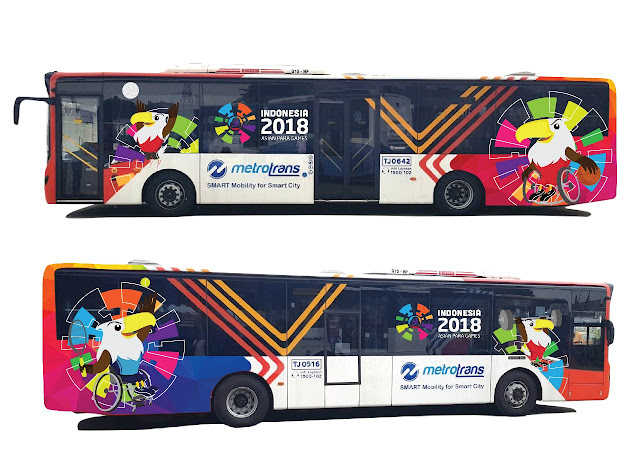 creative design vehicle graphic asian paragames