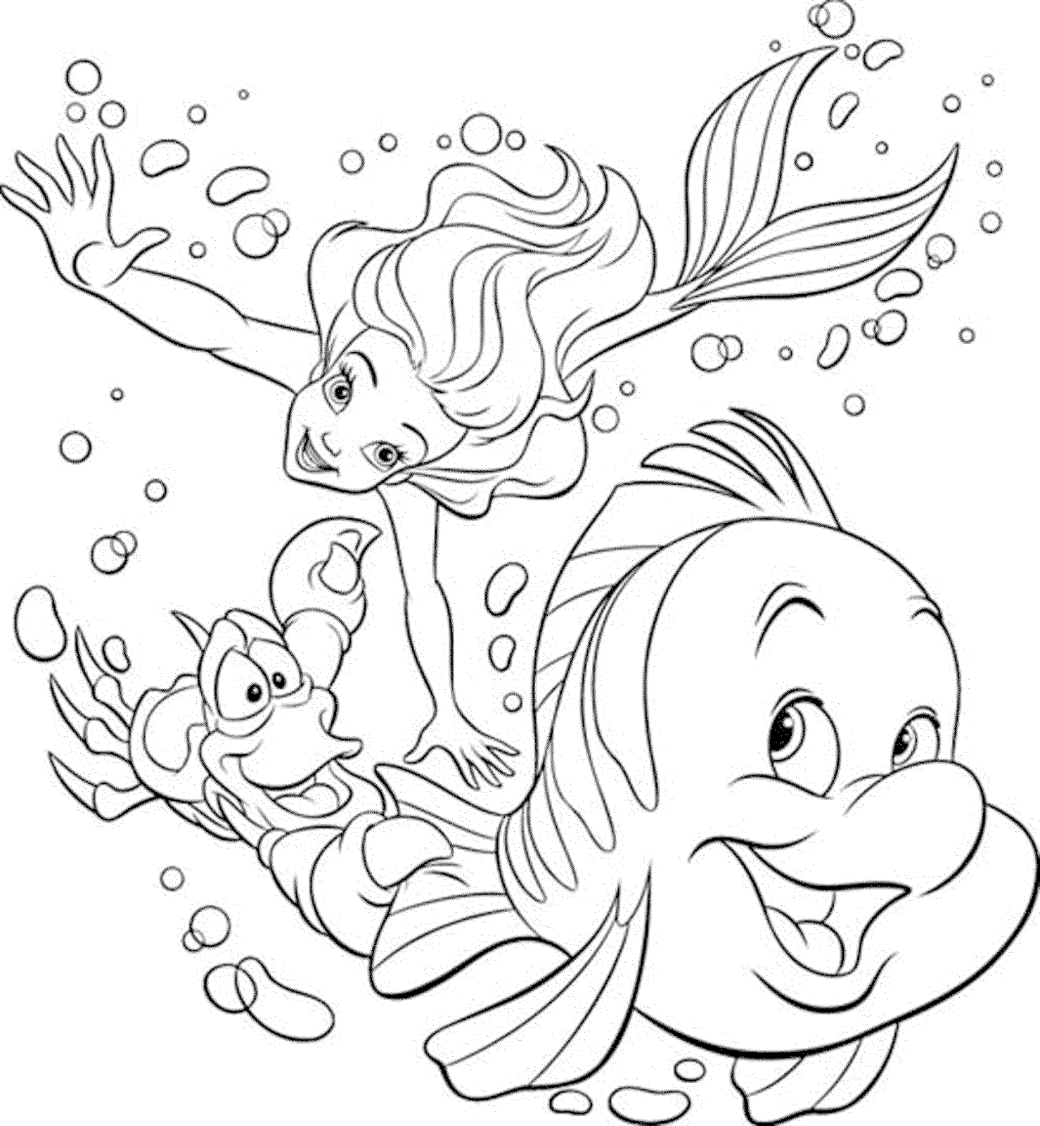 50 Sketsa Gambar Kartun Disney