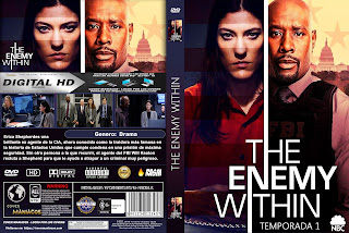 [SERIE TV] THE ENEMY WITHIN – TEMPORADA 1 – 2019 [COVER DVD]