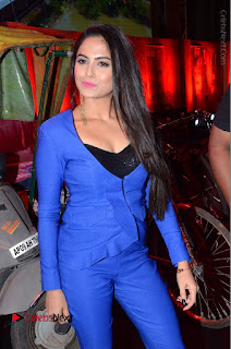 Actress Naina Ganguly Stills in Blue Dress at RGV Shiva to Vangaveeti Event  0011.JPG